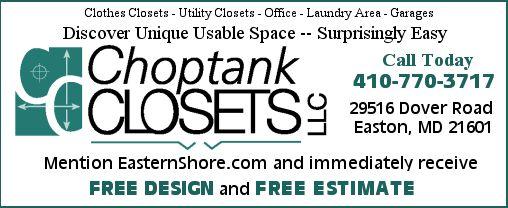 Choptank Closets   Formerly Chesapeake Closets